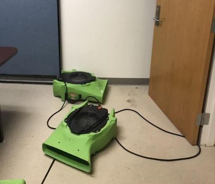 Commercial Brunswick County School water damage