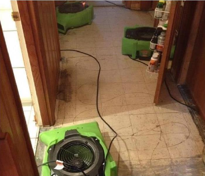 Water Damage Faster response and clean-up of your water damage